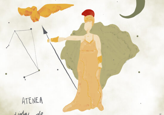 #SerieDiosas Atenea: Diosa de la guerra