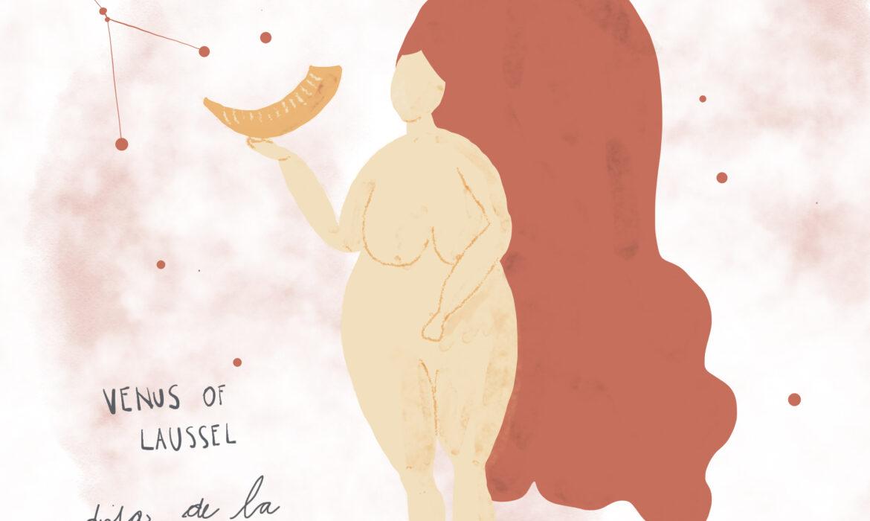#SerieDiosas Venus de Laussel: La Diosa de la Fertilidad