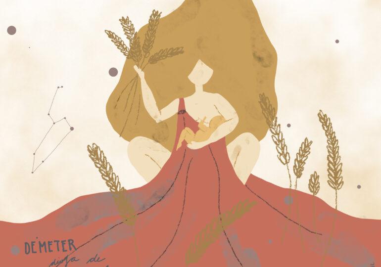 #SerieDiosas Démeter: La Diosa de la cosecha y la agricultura