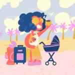 5 favoritos para viajar con un bebé